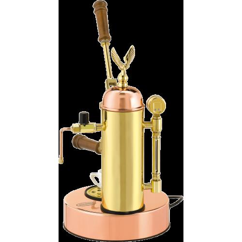 Кофемашина Elektra Micro Casa леверная цвет Медь и Латунь В НАЛИЧИИ - фото 1