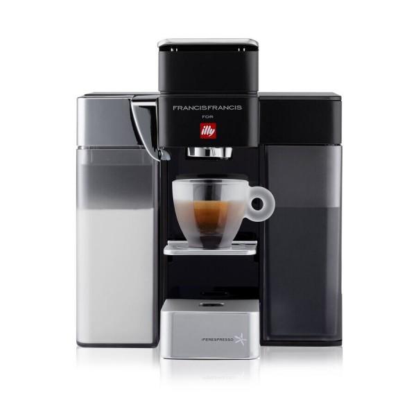 Кофемашина Illy Iperespresso капсульная Y5 Milk Эспрессо и кофе