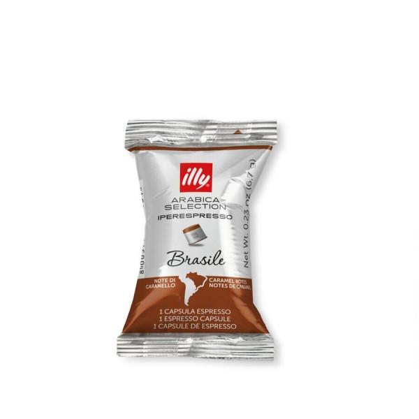 Кофе Illy молотый в капсулах, Арабика Селекшен, Бразилия 100 шт