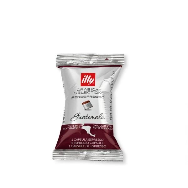 Кофе Illy молотый в капсулах, Гватемала 100 шт