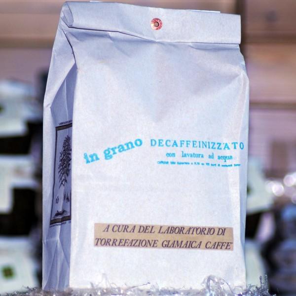 Кофе Giamaica Caffè Декофеинизированное в зернах