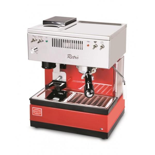 Кофемашина Quick Mill Retro цвет Красный/Черный